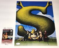 EDDIE MURPHY & JOHN LITHGOW Signed SHREK 11x14 Photo Autograph JSA COA