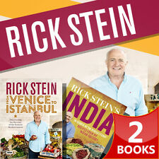 Rick Stein From Venice to Istanbul & Rick Stein India Collection 2 Books Set NEW