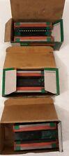 3 Used Hiwin H25C Linear Guideway Blocks