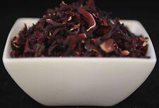 Dried Herbs: HIBISCUS FLOWERS - Organic (Hibiscus sabdariffa)  250g