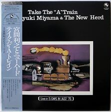 TOSHIYUKI MIYAMA & THE NEW HERD / TAKE THE A TRAIN / JAZZ / TBM JAPAN OBI
