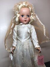 New Listing17� Antique Vintage Arranbee R&B Nanette All Original Wedding Bride 1947 #Sx