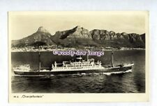 pf8322 - United Netherlands Cargo Ship - Oranjefontein , built 1940 - postcard