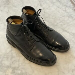 Officine Creative Stanford 203 Size 42.5 Black Leather Boots Mens
