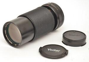 Vivitar MC Macro 70-210mm F4.5 Lens For Canon FD Mount! Good Condition!
