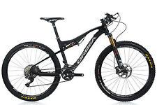 "2016 Orbea Oiz M20 27.5"" Carbon Full Suspension Mountain Bike Medium 17"" Shimano"