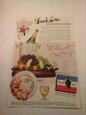 Vtg 1930's-80's CRUISE SHIP ADS Advertising CUNARD MATSON GRACE etc. You choose