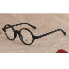 Vintage Round Black Eyeglass Frames Glasses Full Rim Spectacles Myopia Rx able