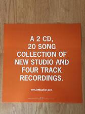 JEFF BUCKLEY My Sweetheart Album Flat Double Sided Display-Promo 1998
