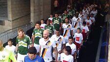2-4 VIP Tickets LA Galaxy vs Colorado Rapids (5th row on player tunnel) 9/2/17