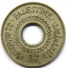 1934 Palestine 5 Mils Coin