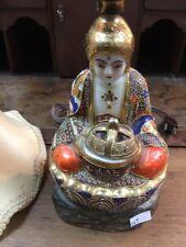Vintage Porcelain Buddha Incense Lamp