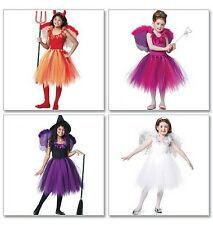 Sew & Make McCall's M6186 SEWING PATTERN - Girls WITCH ANGEL FAIRY COSTUMES 3-6