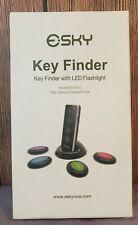 Key Finder, Esky 80dB Wireless Rf Item Locator with 131ft Working Range