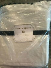 Pottery Barn Teen Emily & Meritt Pom Pom Twin Bedskirt New