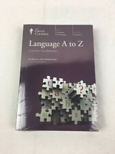 Teaching Co ~ The Great Courses ~ LANGUAGE A to Z ~ CDs and Coursebook ~ NEW