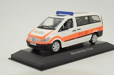 Rare !! Mercedes Viano Switzerland Police Polizei Custom Made 1/43