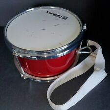 Kawasaki Music Pro Series Drum Percussion Red Pro Series 8 X 5 with Strap