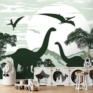 Vlies Fototapete Kinderzimmer Dinosaurier Jungenzimmer Tapete Wandtapete Dino