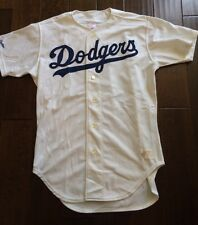 Vintage 80s Rawlings MLB Los Angeles Dodgers Sewn Button Up Jersey Men's 44