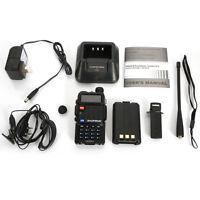Baofeng BF-F8+ Dual Band V/UHF 136-174MHz&400-520MHz Ham Radio + Gift Earphone
