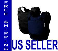 Skarr Armor® NIJ Certified 3A w/ Kevlar Bulletproof Stabproof Vest Body Armor XL