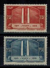 (a35) timbres France n° 316/317 neufs** année 1936