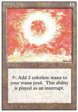 1x Sol Ring Moderate Play, English 3rd Edition Revised MTG Magic
