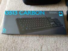 Logitech G513 Carbon Keyboard GX Red Linear 920-009301