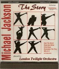 MICHAEL JACKSON -  THE STORY  PLAYED BY LONDON TWILIGHT ORCHESTRA - 92024544