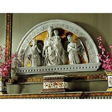 Madonna and Child Renaissance Arch Sculptural Frieze Mary and Jesus