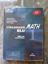 Lineamenti.MATH BLU 1 - Nella Matematica - Con CD Rom