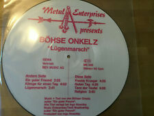 Böhse Onkelz - Lügenmarsch  [LP Vinyl] Metal Enterprises  ME 530 Rote Schrift