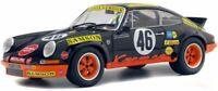 SOLIDO 1801110 PORSCHE 911 RSR model racecar 24hr De Spa Kremer Fitzpatrick 1:18