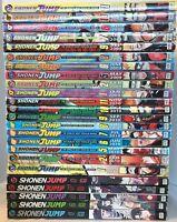 Lot of 24 Manga Books NARUTO Shonen Jump Manga Graphic Novels English
