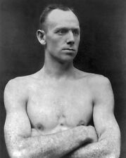1891 Boxing Champion BOB FITZSIMMONS Glossy 8x10 Photo Boxer Poster Print