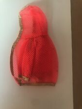 Vintage Dramatic New Living Barbie Doll Swimsuit Hooded Net Cover Up#1116