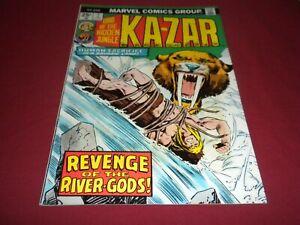 PA1 Ka-Zar #7 marvel 1975 bronze age 6.5/fn+ comic!