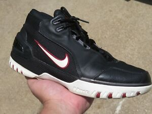 Nike Lebron 1 Zoom Generation Size 9.5 Men For Restoration 308214-011 OG 2003