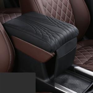 Car Accessories Auto Armrest Pad Cover Center Console Box PU Leather Cushion Mat