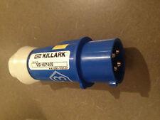 Hubbell Killark VSI16P409 250 Volt 4 Prong Male Plug Connector Class 1, Div. 2