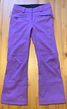 Salomon Purple Waterproof Ski Snowboard Snow Pants Women's Size: S