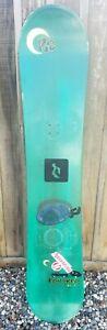 "K2 ""TRUCKER"" Wide Snowboard 163 cm Rare Green Nice..."
