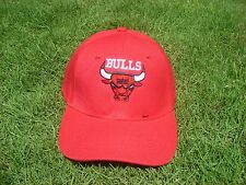 New! Chicago Bulls - 6 Times NBA Champs - Adjustable Hat Cap