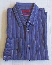 "Hugo Hugo Boss Red Label Mens Slim Fit ""Esha"" Short Tail Sport Shirt $125"
