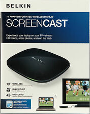 Belkin ScreenCast 1080p HD TV Adapter für Intel Wireless Display WiDi 2.0 Win 7
