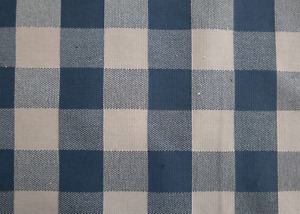 Upholstery Fabric - PC Check Wedgwood (15m)