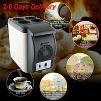 Portable12V Cooler Warmer Car Refrigerator Travel Electric Fridge Truck Freezer