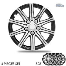 New 15 inch Hubcaps Wheel Covers Full Lug Skin Hub Cap Set 528 For Nissan