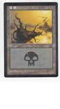 MTG SIMPLIFIED CHINESE ART PORTAL SWAMP MINT MAGIC THE GATHERING LAND #D